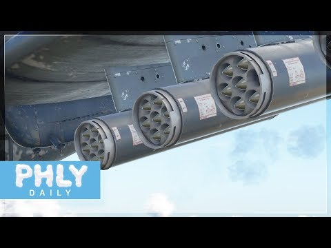 AD-4 SKYRAIDER | 56 HYDRA ROCKET Ground Strike (War Thunder Plane Gameplay)