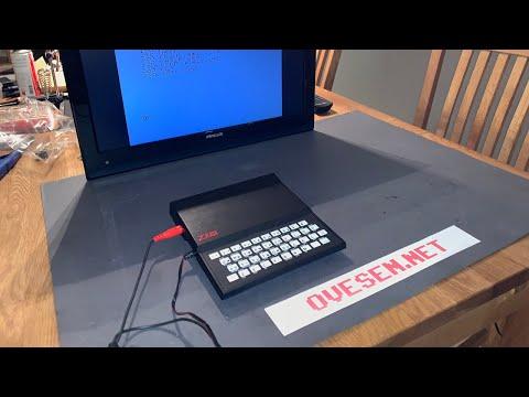 Sinclair ZX81 composite video modification