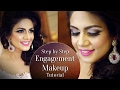 Engagement Makeup Tutorial 2017 | Step by Step Makeup Tutorial for Engagement | Krushhh by Konica