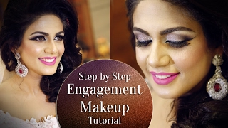 Engagement Makeup Tutorial 2017   Step by Step Makeup Tutorial for Engagement   Krushhh by Konica