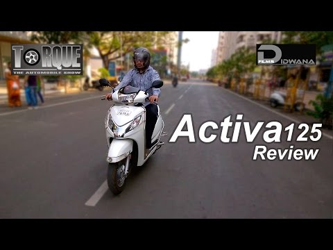 Honda Activa 125 Review & Features | Torque - The Automobile Show