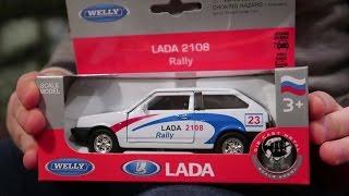 ЛАДА ВАЗ 2108 вісімка ралі Rally LADA 8 Розпакування та огляд машини іграшка