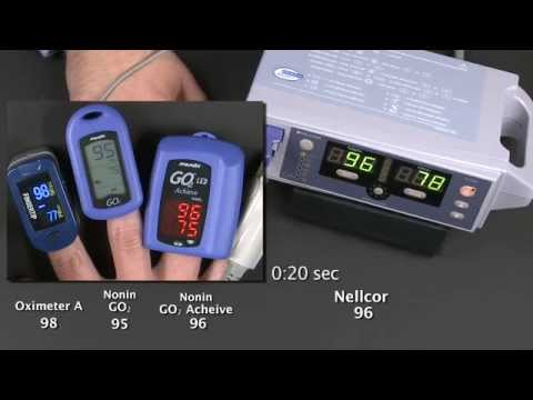 Pulse Oximeter Accuracy – Nonin GO2 Brand Outperforms in Desaturation Test