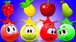 Learn Colors With Fruits | Preschool Learning Videos for Toddlers By Cartoon Candy