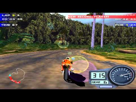 Moto Racer 2 Delphine Software International Windows 1998 Pc Longplay Youtube
