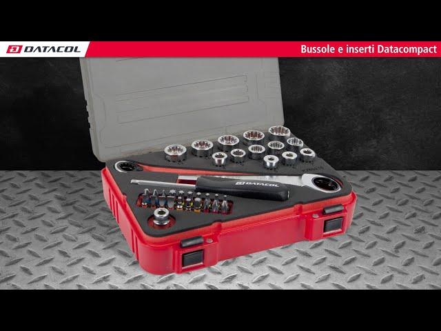 Bussole compatte e inserti Datacompact - 36 pezzi (K760210)