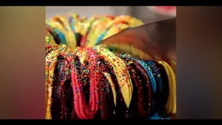 How To Make Chocolate Rainbow Surprise Cakes Recipe - Amazing Chocolate Cake Decorating Videos