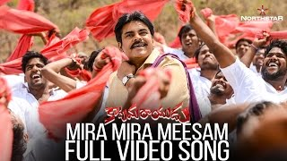 Mira Mira Meesam Full Video Song| Pawan kalyan | Shruthi Hassan