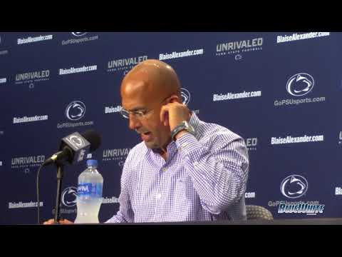 James Franklin press conference opening comments