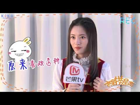 [ENG SUB] SNH48 Kiku (鞠婧祎) - HunanTV interview 26/02/16 HD