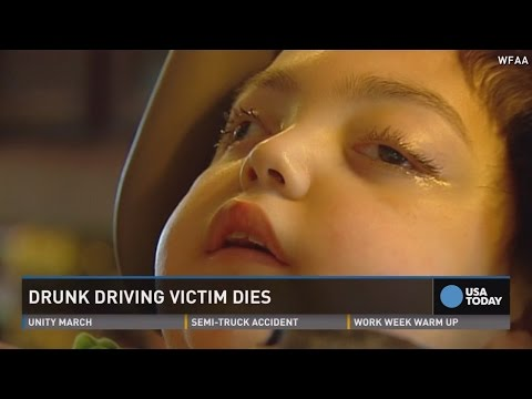 8-year-old dies of injuries from 2009 DWI...