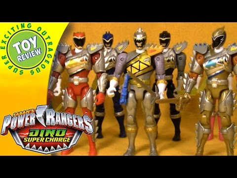 Power Rangers Dino Super Charge: Enter the Silver Ranger - Complete Story - Play with Toys