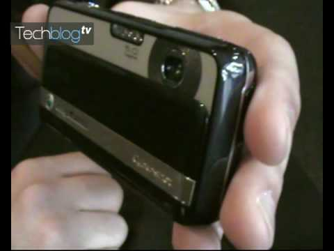 Sony Ericsson C903 hands-on (Greek)