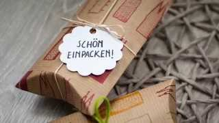 Pillow-Box selber machen DIY | schön-einpacken