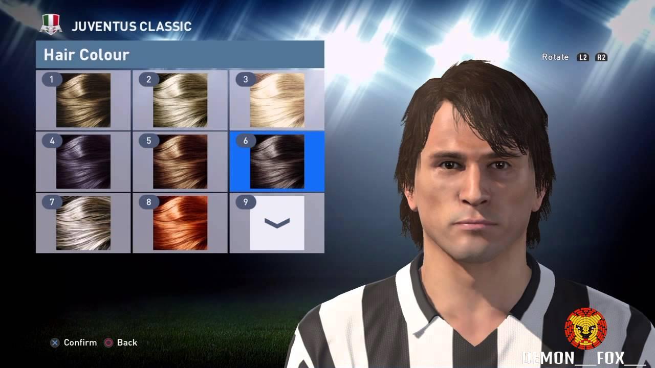 PES 2016 Marco Tardelli face stats [Juventus]