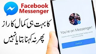 Facebook Messenger Hidden Tricks And Cool Hacks 2019 | Technical Fauji