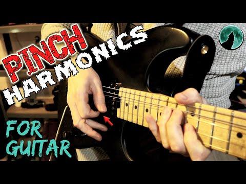 PINCH HARMONICS For GUITAR