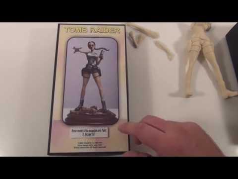 Lara Croft Resin Figure Model #84