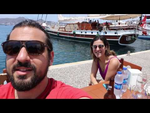 Leap of faith ... Bodrum Vlog day 2