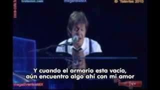 Paul McCartney - My Love, Mexico City 2010 (con subtítulos).wmv