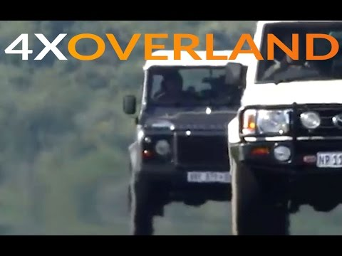 Land Rover Defender versus Toyota Land Cruiser 76 Wagon