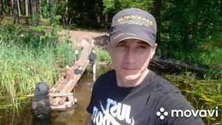 Рыбалка на лесном озере день 2 26 07 2021