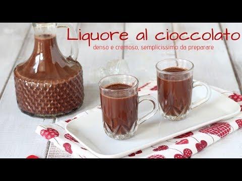 Liquore al cioccolato - Denso e cremoso