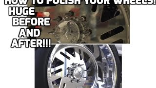 How to Polish your American Force wheels & all other billet wheels!