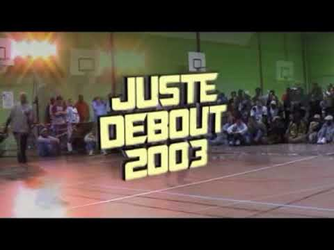 Juste Debout 2003 - House dance final - Babson & Yugson vs Meech & Rickysoul