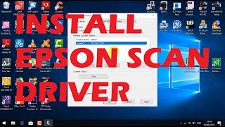 HOW TO - INSTALL EPSON SCAN DRIVER