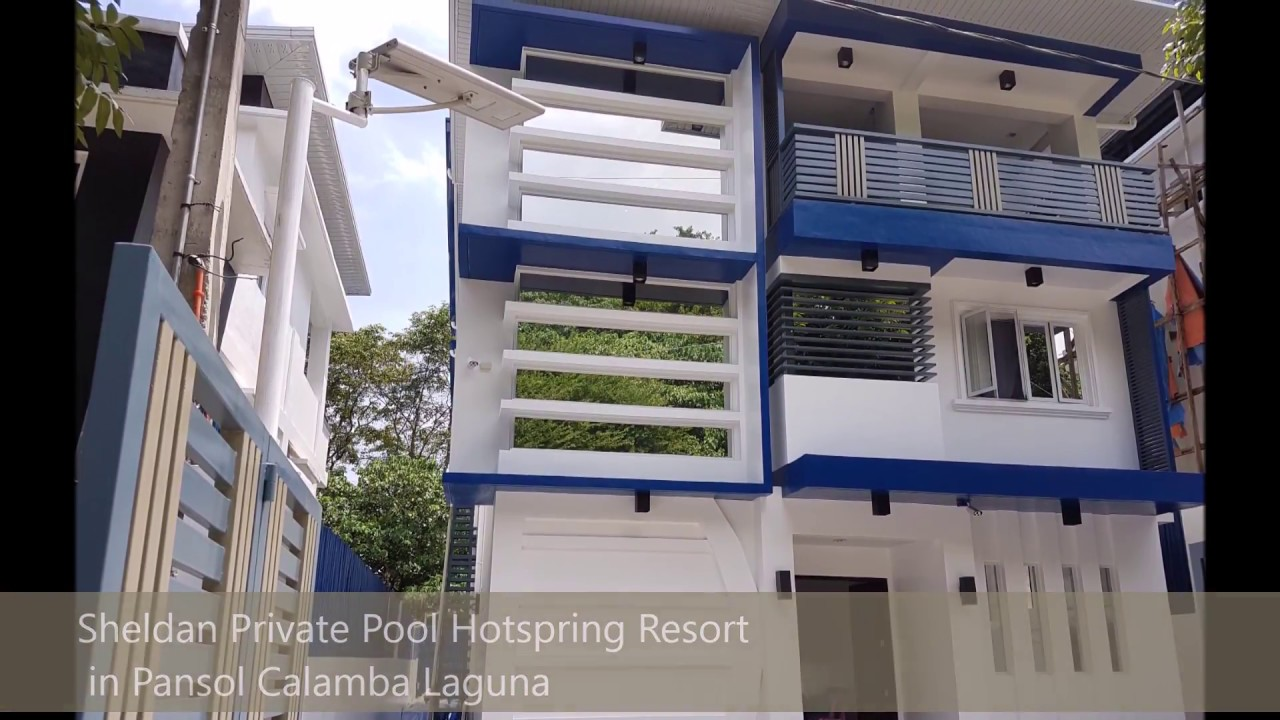 Sheldan private pool hotspring resort in pansol calamba laguna official