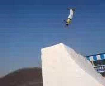 how to land a ski jump