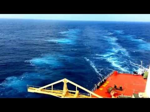Piracy drill by armed guards near somalia