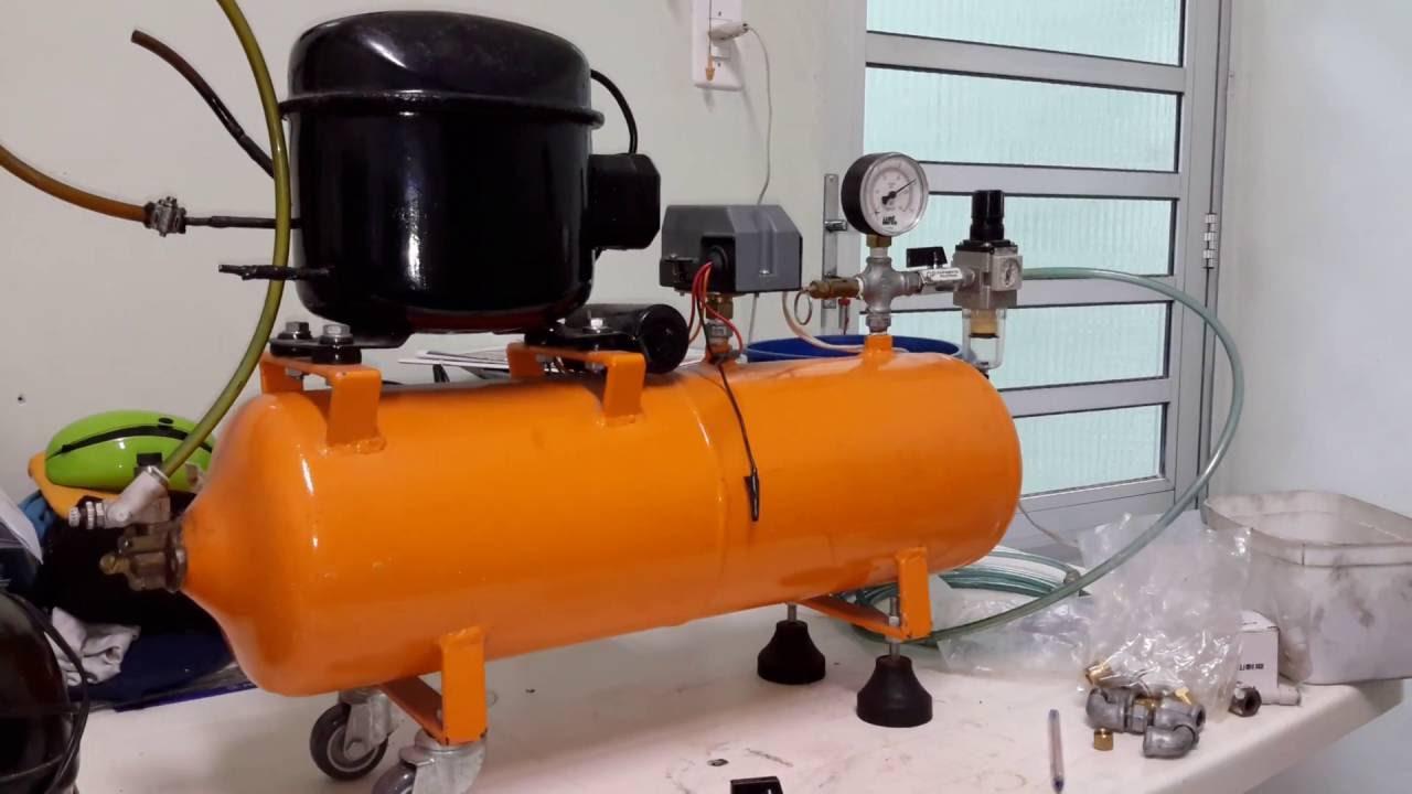 Compressor De Ar Caseiro - Lista De Pe U00e7as
