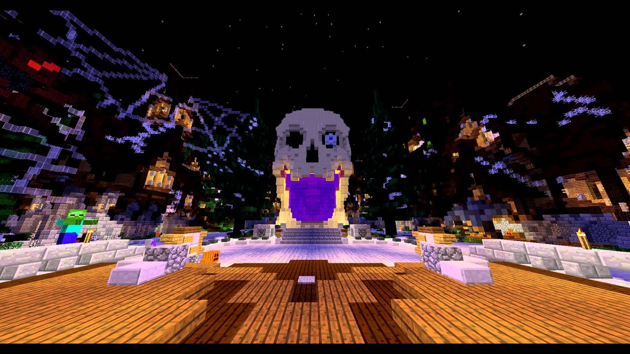 Minecraft Halloween World