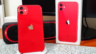 iPhone 11 Product Red Unboxing