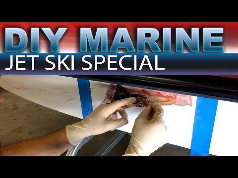 Jet Ski hull repair DIY - Part 1