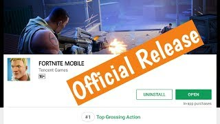 Fortnite Android Release Date | Confirmed By Tencent Games