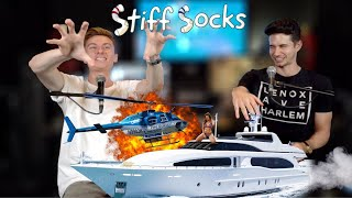 Gambar cover Trevor Crashes a Yacht Party On A Helicopter | Stiff Socks Ep. 36
