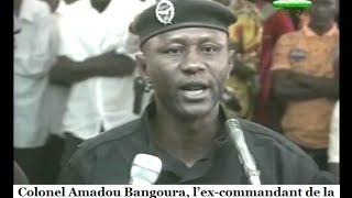 Colonel Amadou Bangoura, l?ex-commandant de la BSIP:Junior m'a dit qu'il est Sierra ...