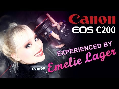 MY EXPERIENCE WITH CANON C200 | Emelie Lager