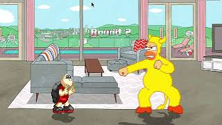 Koopa Troopa Vs. Evil Homer at Bojack Horseman's House (Better Quality)