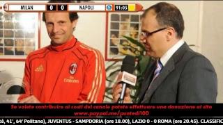 #puntedisuma live: milan vs napoli