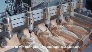 Báo giá máy điêu khắc tượng gỗ mini giá rẻ tại Khánh Hòa