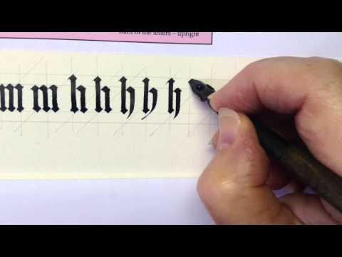 Gothic Book Script/Black Letter 3