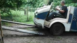Citroën HY recarrossé par HEULIEZ, nommé Josy, deuxième essai