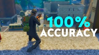 Glitch To Get NO BLOOM & Have 100% ACCURACY In Fortnite
