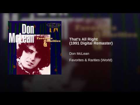 That's All Right (1991 Digital Remaster)