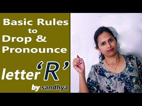 BASIC RULES FOR USING LETTER 'R'   PULIHORA POTLAM