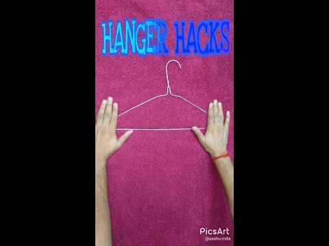 Hanger Hacks | Hanger Uses | DIY | Inexpensive Ideas | By home on tube